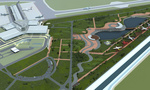 Sofia Airport - Extension - Landscape detailed project